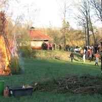 Valborgsmässofirande vid Infobyggnaden, Femsjö